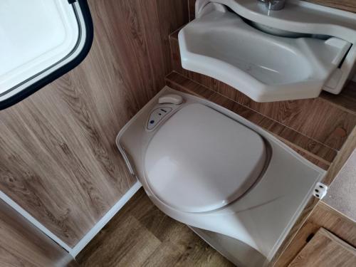 Toilette / Wachplatz